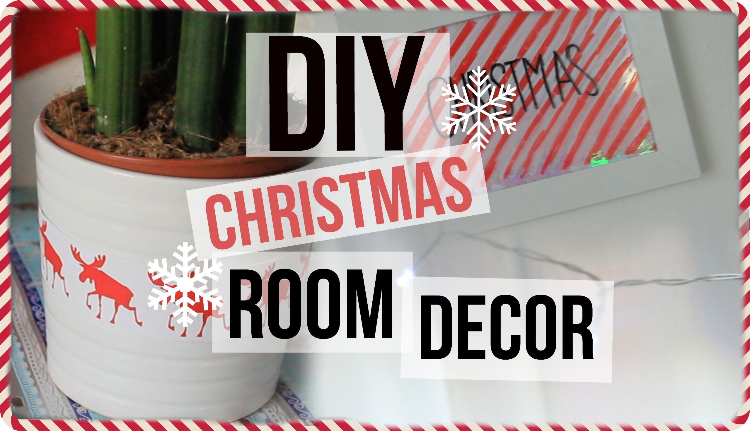 DIY Room Decor for Christmas 2015