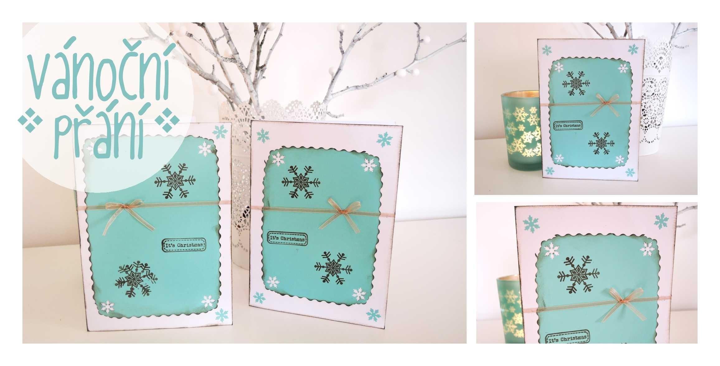 Vánoční přání z papíru #1. Diy paper christmas card