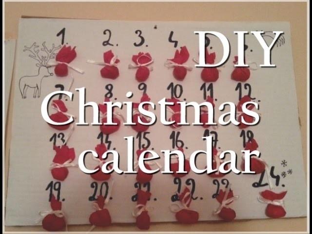 DIY Adventní kalendář ( Christmas calendar )