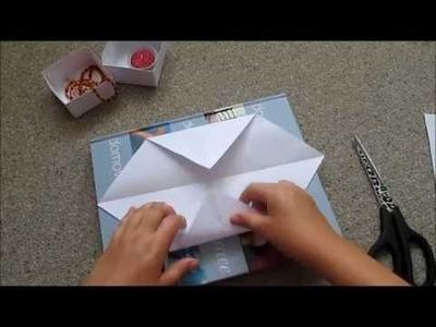 DIY - Papírová krabička | Tvoříme s Annie