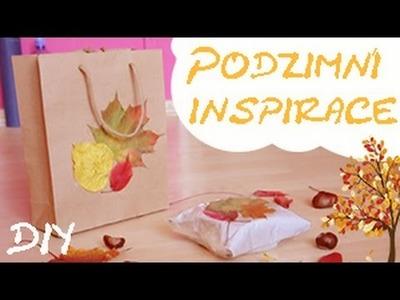DIY Podzimní inspirace: Jak zabalit dárek do podzimního listí?