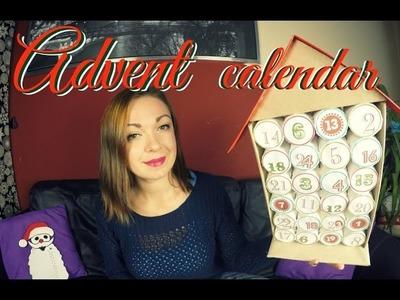 Návod na adventní kalendář. diy adventní kalendář. advent calendar
