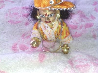 How to make night dress of Bal Gopal. Ladoo Gopal. Thakurji. Krishna. Kanha ji