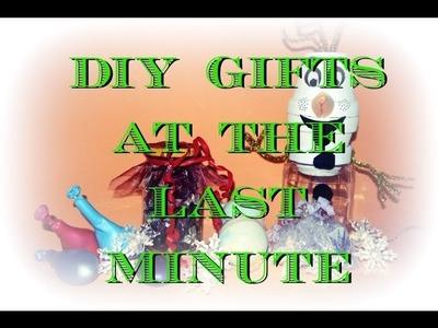 Dárky na poslední chvíli. Last Minute DIY Christmas Gifts