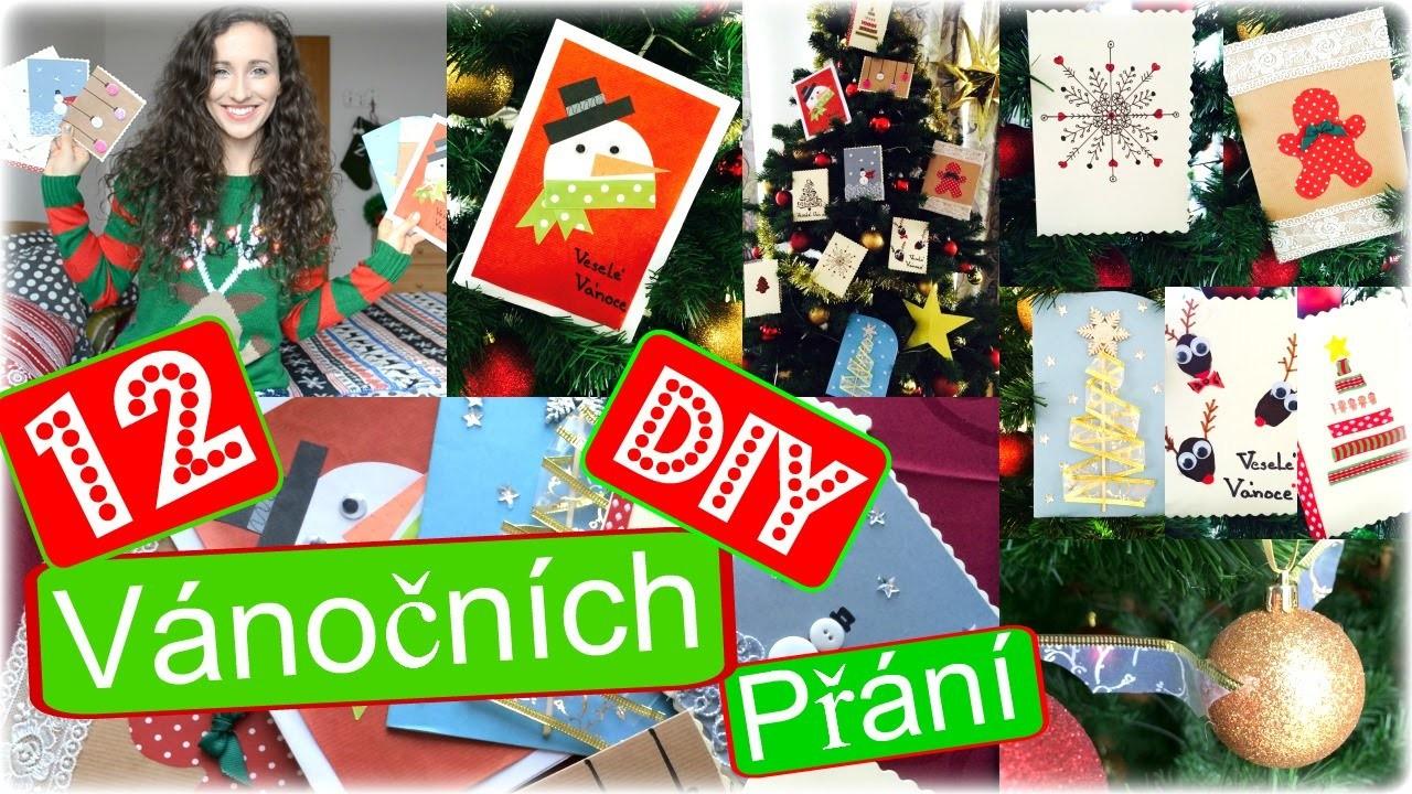 ❄ DIY: Dvanáct Vánočních Přání ❄ Pavlinna17 ❄