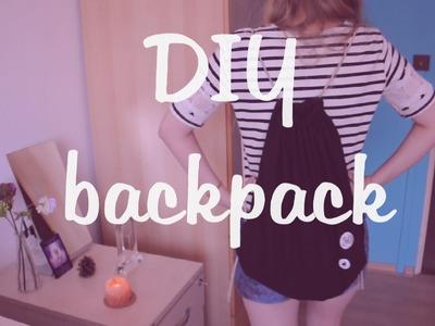 DIY Backpack: Vak.pytel na záda.