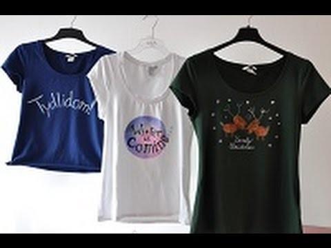 DIY Christmas T-shirts | Vánoční ručně malovaná trička: Winter is Coming, Lovely Christmas, Tydlidom
