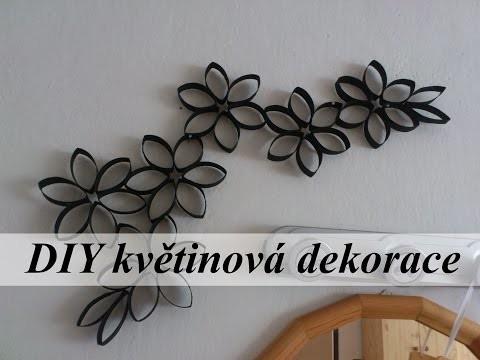 DIY květinová dekorace.DIY flowery decoration