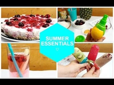 SUMMER ESSENTIALS:  Letní inspirace DIY | Markéta Venená