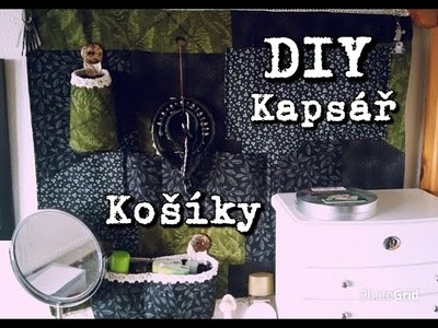 DIY Košíky na kapsář