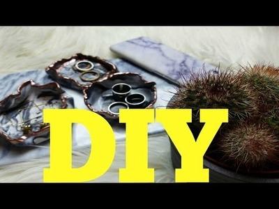 DIY ⎜ Mramorování⎜Marble Ring Dish