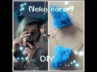 Neko ears DIY (tutorial) aneb jak na kočičí ouška ^-^ [Kichiru] (mluvený komentář)