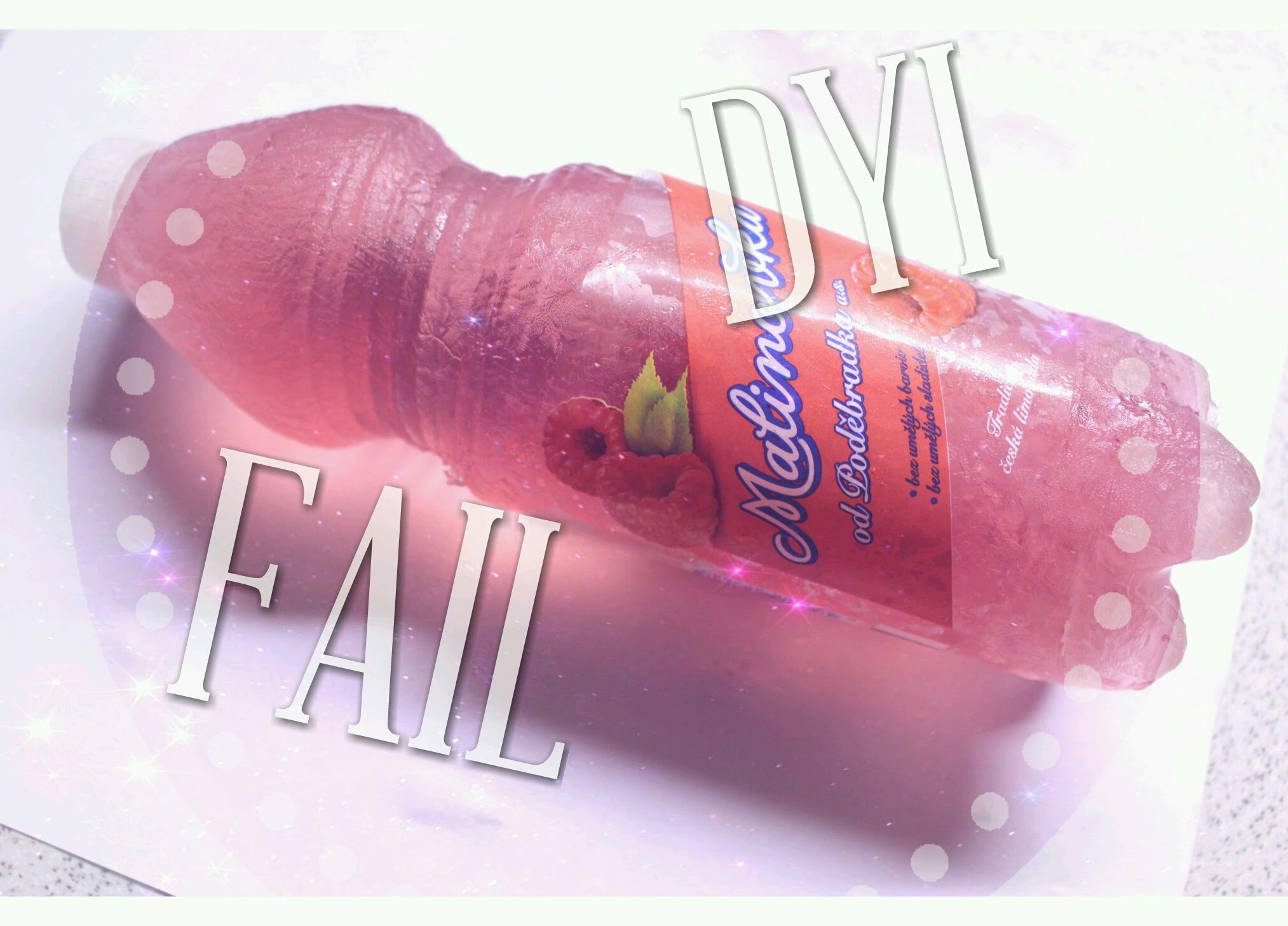 DIY nebo FAIL Gummy Jelly Soda  Bottle.Eli Style