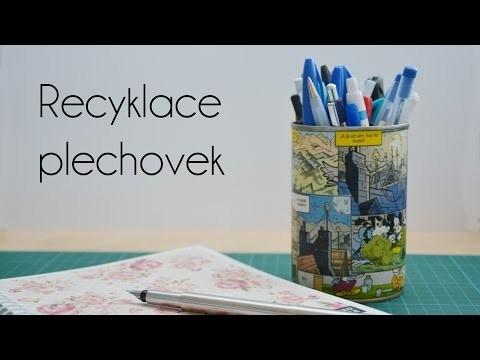 Recyklace plechovek   DIY