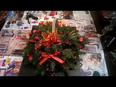 Vánoční svícen | DIY