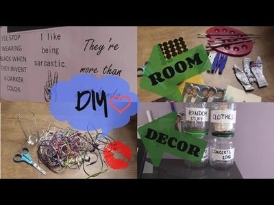 DIY  Room Decor !