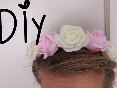 DIY   Květinová čelenka #2