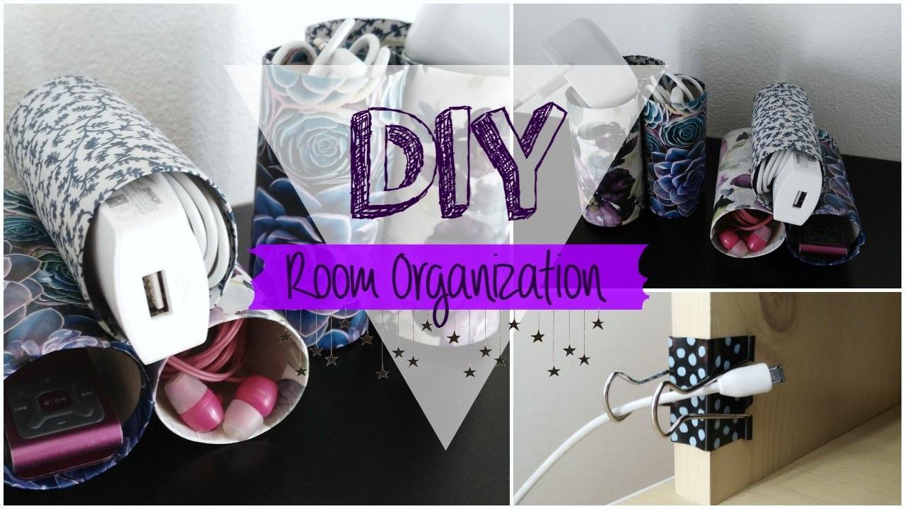 DIY Room Organization aneb KONEC se zamotanými dráty