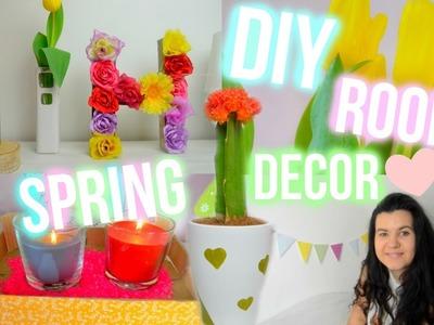 ♡ DIY Jarní Dekorace Do Pokoje 2016 | DIY Spring Room Decor 2016 ♡