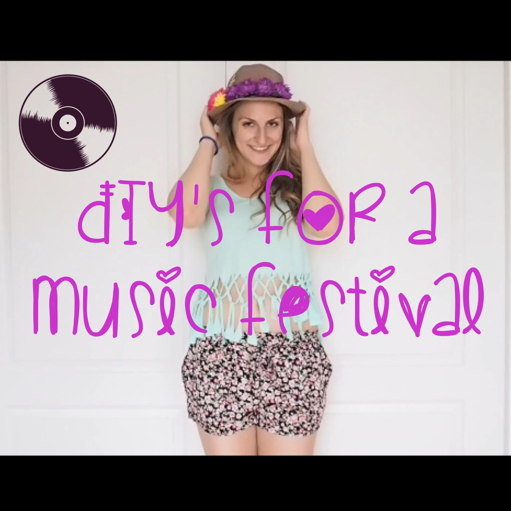 DIY's for a music festival
