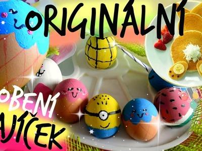 DIY Vtipné & Originální ZDOBENÍ VAJÍČEK! + Zajíček z palačinek