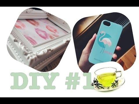DIY #1 - case,peeling,rámeček