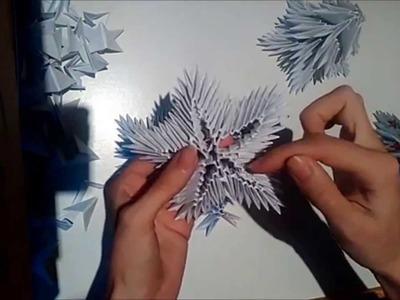 3D Origami - Vánoční stromeček (Christmas Tree)