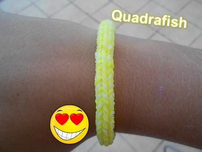 Rainbow Loom - Quadrafish, návod