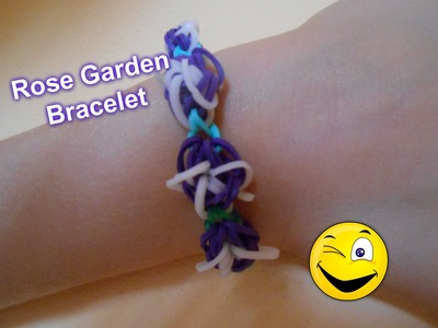 Rainbow Loom - Rose Garden Bracelet, návod
