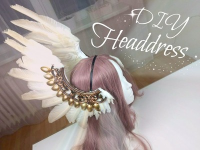 Diy Headdress with Feather , Výroba čelenky s peřím
