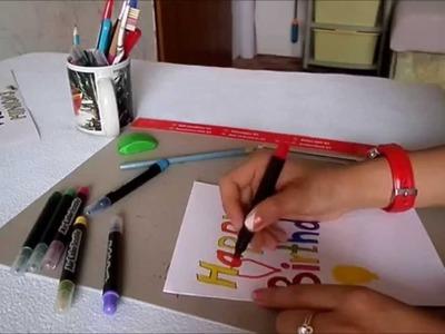 DIY - Taštička + přáníčko | MiNions DIY'S