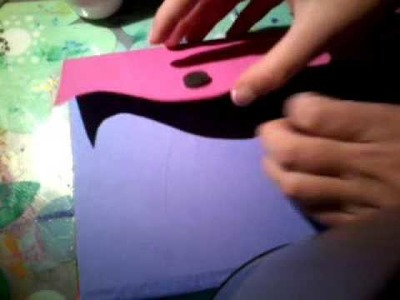 DIY Violetta denníček
