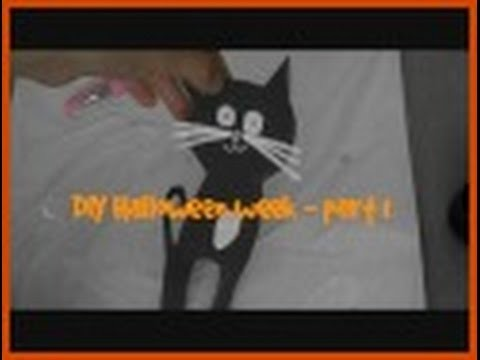 DIY Halloween week - Day 1- Mačičky llWhoopell
