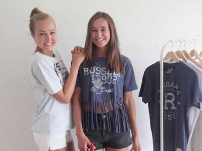 DIY: letní trička