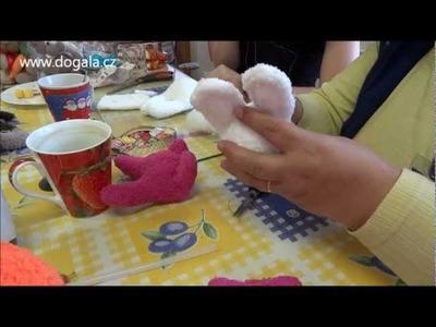 DoGala.cz: Návod na výrobu velikonočního zajíčka z ponožek