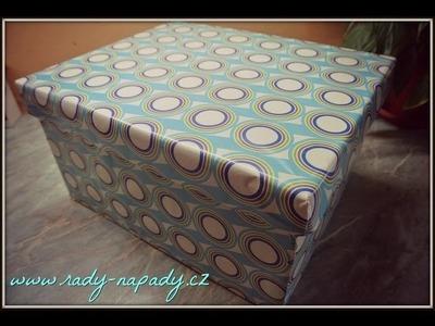 Úložná krabice s víkem D.I.Y.