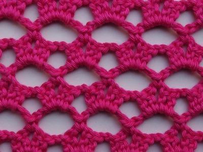 Heklana mustra - čipka (Crochet Lace Pattern)