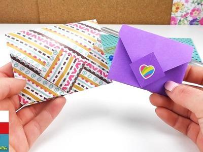 Jak složit obálku Origami DIY. Jak si složit jednoduše barevný dopis Tutorial | česky