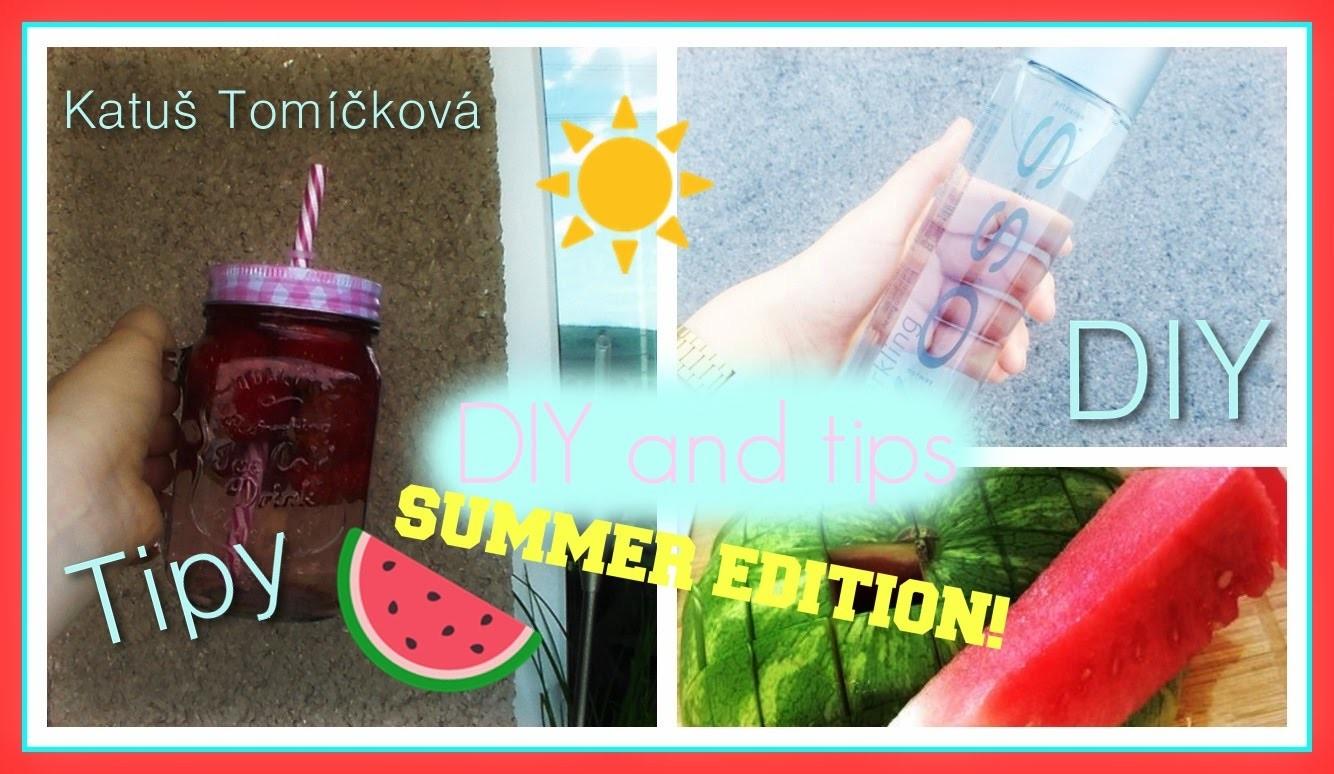 Tipy + DIY na letní nápoje a svačiny! | Katuš♡