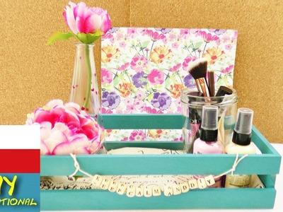 DIY Ozdobte si pokoj - dekorace - psací stůl, kosmetika, laky na nehty