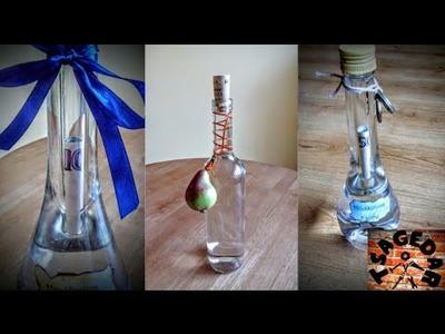 Peníze v lahvi. DIY Decorative money in bottle