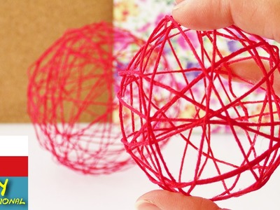 Dekorace - koule z vlny - letní dekorace z vláken, balonek - DIY