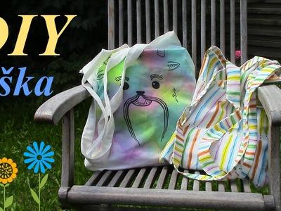 DIY plátěná taška