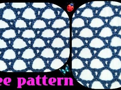 Crochet lace pattern (heklana rupičasta mustra)
