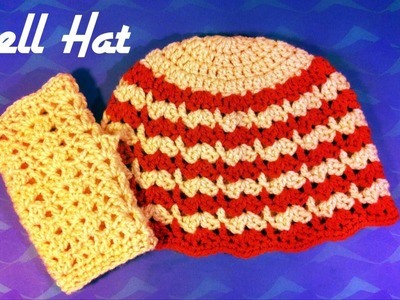 How to Crochet a Shell Hat - Beanie