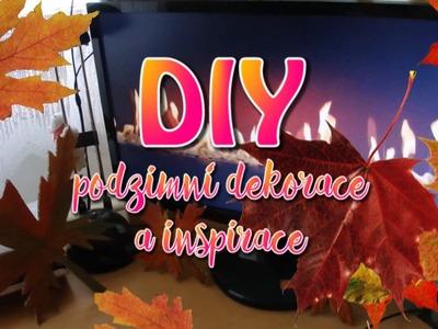DIY - Podzimní dekorace do pokoje + INSPIRACE