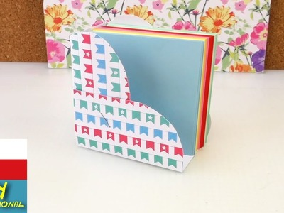 DIY mini stojánek na papírky ve tvaru srdíčka - psací stůl