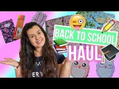 ♡ ZPÁTKY DO ŠKOLY- NÁKUPY 2016 | Back To School Haul ♡