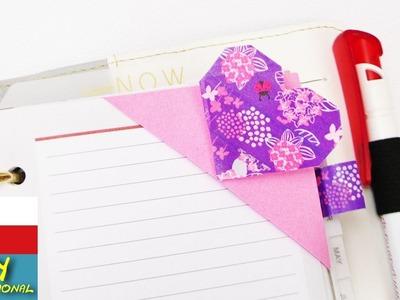 ♥ Záložka do knížky ve tvaru srdíčka ♥ Washi pásky