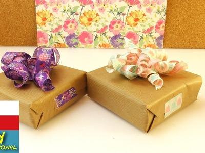 Balení dárečků - mašličky z washi pásek - předpříprava na Vánoce